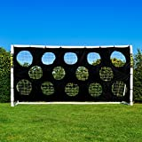 Soccer goalターゲット。Proサッカーターゲットシート。GREAT for Soccer Practice。選択サイズを