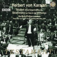 Mozart - Divertimento No 15; Stravinsky - Le Sacre du Printemps (2009-10-13)