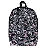 OUTDOOR PRODUCTS (HELLO KITTY×OUTDOOR) デイバック (リュックサック) ブラック コミック ハローキティ