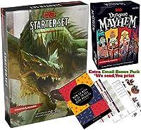ダンジョンズ&ドラゴンズ 第5エディション スターターセット - ダンジョンメイヘムカードゲーム - D&D 5e ダンジョンズ&ドラゴンズスターターキット 第5版 - DND 5e 初心者ボードゲームギフトセット スターターキット付き