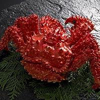 花咲ガニ 1.1kg×1尾 根室 の花咲港で水揚げされる 花咲蟹 は大変貴重な 蟹