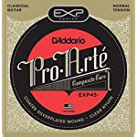D'Addario ダダリオ クラシックギター弦 EXPコーティング Silver Wound Normal EXP45 【国内正規品】