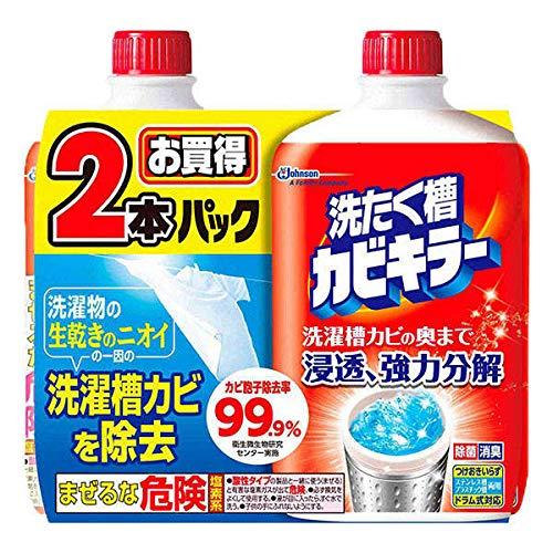 洗たく糟カビキラー 液体タイプ 550g 1セット 4本 ジョンソン
