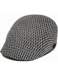 ハッピーハット 帽子 オールメッシュハンチング ライト&クール hun-427