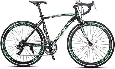 CYRUSHER XC790 ロードバイク自転車 700*28C シマノ 14段変速 AS4.1 Vブレーキ 軽量アルミフレーム