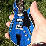 "AXE HEAVEN Bob Weir Signature Modulus ""Lightning Bolt"" Miniature Guitar Replica Collectible [並行輸入品]"