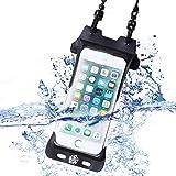 SweetLeaff 防水ケース iphone 6 6s 7 8 IPX8認定 完全防水