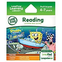 LeapFrog SpongeBob SquarePants: The Clam Prix Learning Game (works with LeapPad Tablets Leapster GS and Leapster Explorer) [並行輸入品]