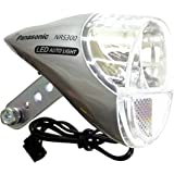 自転車用品 LEDオートライト ハブダイナモ2端子用 NRS300 グレー