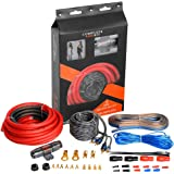 TOPSTRONGGEAR 4 Gauge Amp Kit True 4 AWG Amplifier Installation Wiring Amp Kit Install Cables