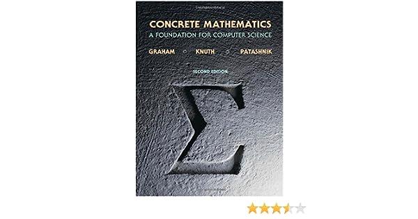 Amazon   Concrete Mathematics:...