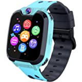 Kids Phone Smartwatch with Games & MP3 Player - 1.54 inch Touch Screen Watch Phone 2 Way Call Music Player Game Funny Camera