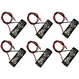 LAMPVPATH (Pack of 6) A23 Battery Holder, 12V Battery Holder, 23A Battery Holder, 12V Battery Case with Leads Wires