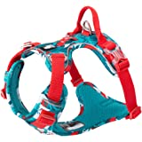 Chai's Choice Best Tropic Thunder Edition Dog Harness with Quick-Release Neck Strap.