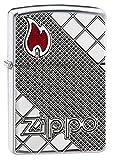 ZIPPO(ジッポ) オイルライター USモデル アーマー 深彫り ハイポリッシュクローム 29098