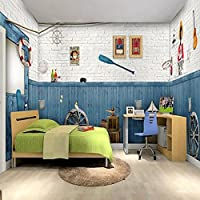 Sproud 地中海の海の大きな壁画壁紙ベッドルームのテレビの背景の壁紙の壁紙バー 250 Cmx 175 Cm の要素の説明