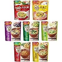 アマノフーズフリーズドライ 朝の一杯おみそ汁&たまごスープ7種35食