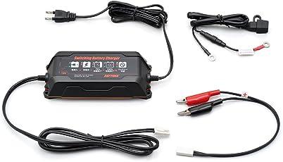 デイトナ(Daytona) スイッチングバッテリーチャージャー12V【回復微弱充電器】 95027