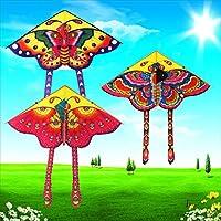 ShapeW New Colourful Butterfly Kite Outdoor Kites Flying Toys Kite For Children Kids