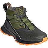adidas Kid's RapidaRun ATR BTW Boys Running Shoes Grey Six/Tech Olive/Flash Orange