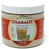 Pride Of India Ginger Chai Latte Powdered Instant Tea Premix, 8.82Oz (250Gm) Jar (Makes 20 Cups)