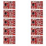 Calloy TTP223 タッチキーモジュール 静電容量式 タッチ スイッチ セルフロック モジュール 10個 収納ボックス付き