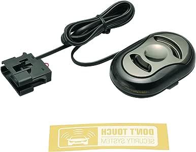 カーメイト 車用 カーセキュリティー 純正キーのリモコンでON/OFF可能 OBDII通信 ブラック SQ900