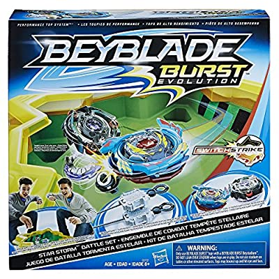 Beyblade Burst - Star Storm 2 player Battle Set with Stadium, Launchers & tops