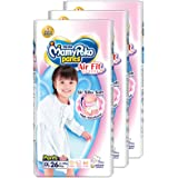 MamyPoko Air Fit Pants Girl, XXL, 26 Count, (Pack of 3)