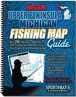 ミシガン州アッパー半島西部の釣り地図ガイド