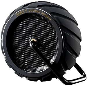 Aukey Bluetooth スピーカー ポータブル ワイヤレス スピーカー 防水 耐衝撃 アウトドア (ブラック) SK-M4