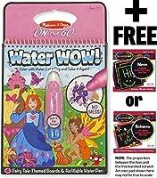 Fairy Tale: Water Wow Activity Book + FREE Melissa & Doug Scratch Art Mini-Pad Bundle [94153] [並行輸入品]