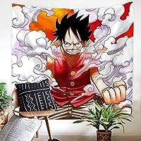 LINrxl タペストリールームタペストリーアニメ柄、ポリエステル100% (Color : B, Size : 130cm×150cm)