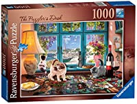 Ravensburger The Puzzler's Desk, 1000pc Jigsaw Puzzle