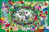1000ピース ジグソーパズル めざせ!パズルの達人 ホラグチカヨ 365日のフラワーリース(50x75cm)