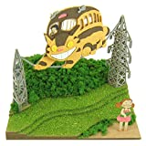 さんけい スタジオジブリmini となりのトトロ メイとネコバス ノンスケール ペーパークラフト MP07-04