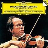 シューマン:ヴァイオリン協奏曲、ヴァイオリン・ソナタ第1番・第2番