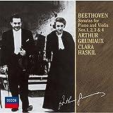 ベートーヴェン:ヴァイオリン・ソナタ第1番~4番(モノラル録音)