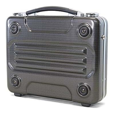 ca- 122006-ccj A4対応 アタッシュケース ビジネスバッグ G-BRONCO ブロンコ No.122006 カーボンプリント(122006336)