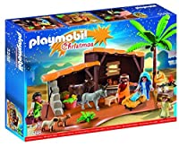 PLAYMOBIL Nativity Stable with Manger Play Set [並行輸入品]