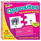 Trend Enterprises Opposites Fun to Know Puzzles T36004 ファン トゥ ノウパズル 反対ことば