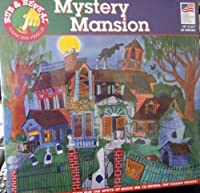 "Mystery Mansion""Rub and Reveal"" Magic Ink Puzzle - 60 Pieces"