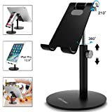 AICase Adjustable Tablet/Phone Stand, Telescopic Adjustable Ipad Stand Holder,Universal Multi Angle Aluminum Stand Compatible