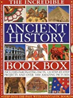 The Incredible Ancient History Book Box: Step into the past with 8 fantastic books: Ancient Greece, The Inca World, Mesopotamia, The Roman Empire, Ancient Japan, Ancient Egypt, The Aztec & Maya Worlds, The Celtic Worlds (8 Book Box)
