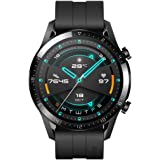 HUAWEI 55024316 Watch GT 2, 2 Week Battery Life, 15 Workout Modes & Full-time Fitness Trainer, 46mm - Matte Black