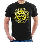 AEGWRQE Blade Runner Tyrell Replicants Logo Men's T-Shirt