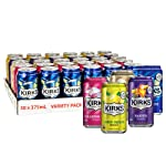 Kirks Variety Soft Drink Multipack Cans 30 x 375mL