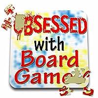 ブロンドDesigns Obsessed with–Obsessed with Board Games–10x 10インチパズル( P。_ 241542_ 2)