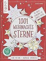 1001 Weihnachtssterne (kreativ.kompakt): Eine Faltung - unzaehlige Varianten. Mit Anlege-Schablonen fuer exaktes Falten. Extra: Ein Bogen Geschenkpapier
