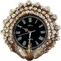 ALUP- ラグジュアリーヨーロッパの壁時計リビングルーム樹脂クリエイティブアートミュートレトロ装飾時計